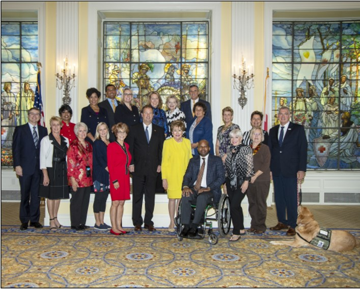 Veterans' Family Committee Group Photo