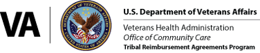 IHS/TRP logo with VA seal