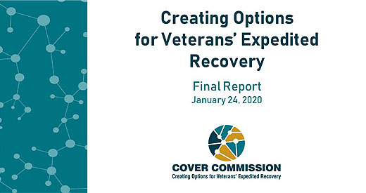 cover slide creating options for veterans expedited recovery