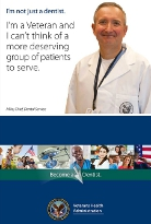 Click here to view the VA Dentistry Employment Brochure and become a VA Dentist!