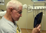 Navy Veteran receives new prosthetic ear