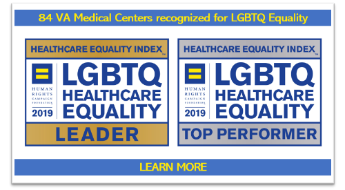 84 VA medical centers recognized for LGBTQ equality