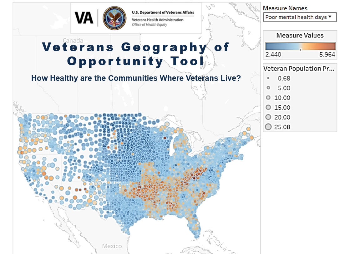 Veterans Geography of Oppotunity Tool