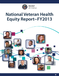 National Veteran Health Equity Report FY 13 Cover