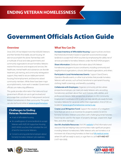 Government Officials Quick Guide