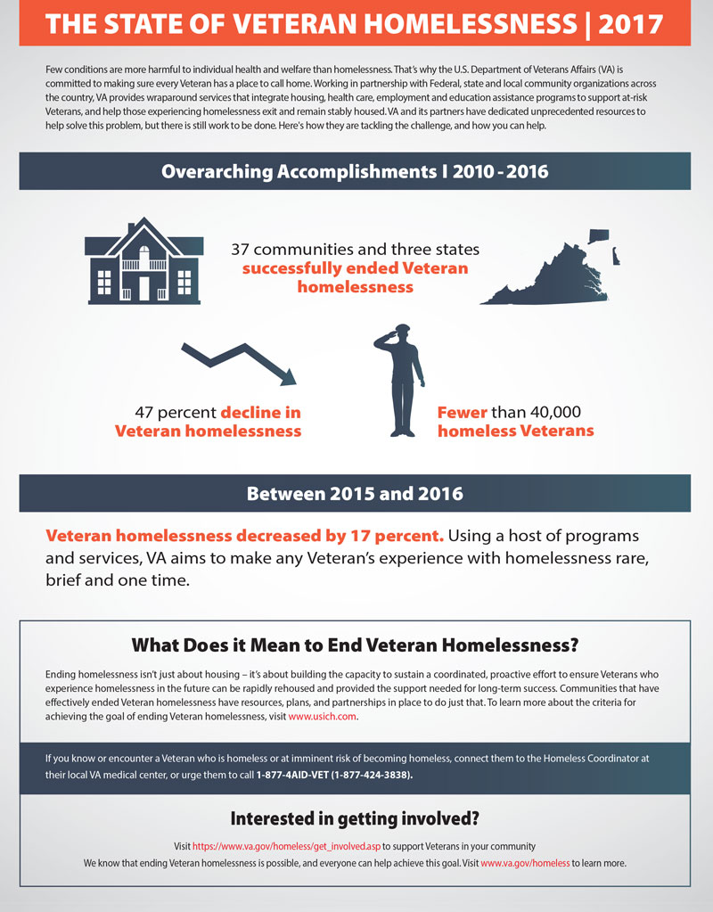 THE STATE OF VETERAN HOMELESSNESS | 2017