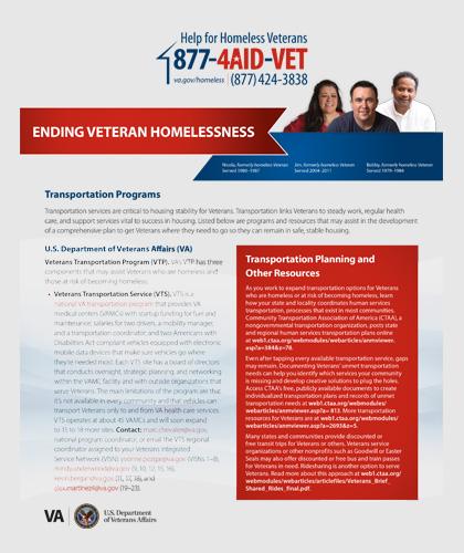 VA Factsheet