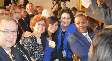 Mayors at the White House (United States Conference of Mayors)