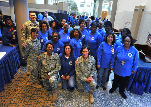 Washington DC VA Medical Center's Winterhaven Homeless Veterans Stand Down
