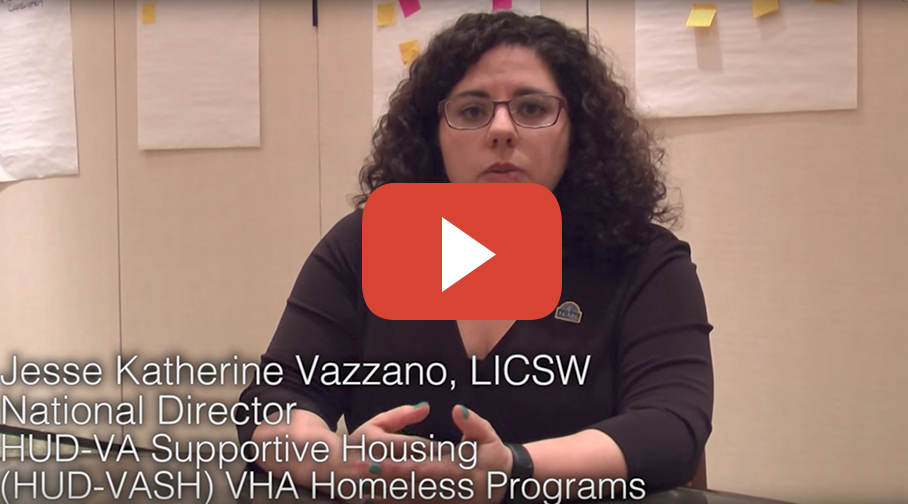 The Housing First Approach in VA Homeless Programs video