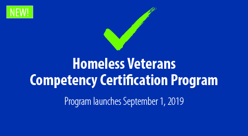 Homeless Veterans Competency Certification Program