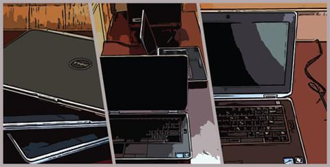 Picture of Donated Laptops