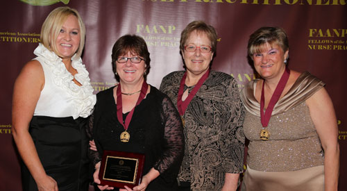 Dr. Christine Engstrom inducted as Fellow of AANP