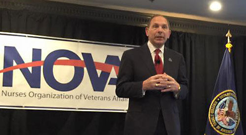 Secretary McDonald Speaking at NOVA Annual Meeting