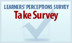 Learners' Perception Survey