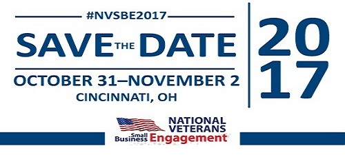 Save the Date  — National Veterans Small Business Engagement