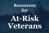 Resources for at-risk veterans