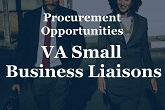 Business Laisons. Advice on potential procurement opportunities