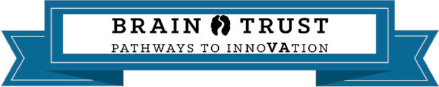 Logo for Brain Trust This logo simply says Brain Trust pathway to innovation