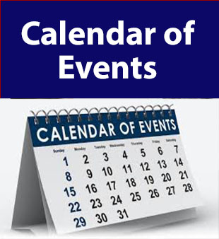 Calendar of Events page