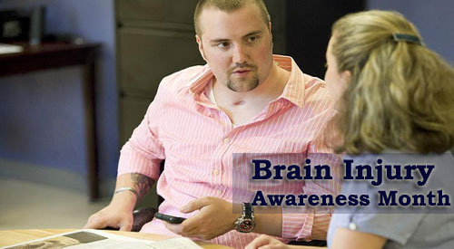 Brain Injury awareness month banner