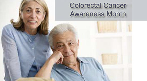 colorectal cancer awareness banner