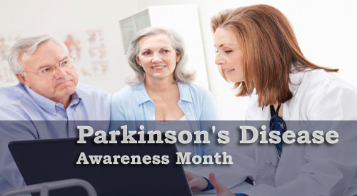 parkinson's disease awareness monthly campaign for April