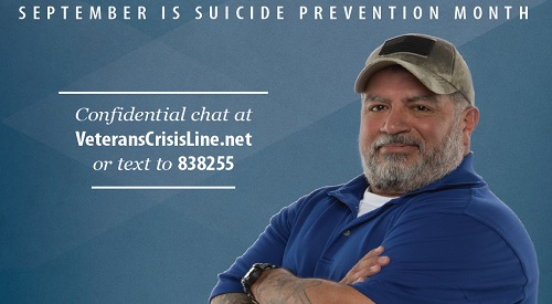 suicide prevention awareness monthly campaign for September