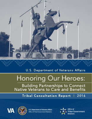 Tribal Consultation Report Cover