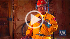 Navajo Code Talker Thomas Begay