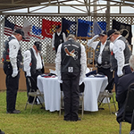 Ceremony at Seminole Nation Rolling Thunder