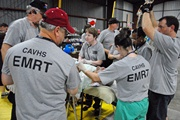 Little Rock VAMC patient reception teams provide care to Hurricane Ike evacuees