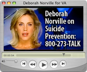 Deborah Norville on Suicide Prevention: 800-273-TALK