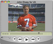 Video: John Elway Urges US Veterans to Healthy Living