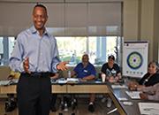 Image of Whole Health Peer Facilitator training session at Tampa VAMC