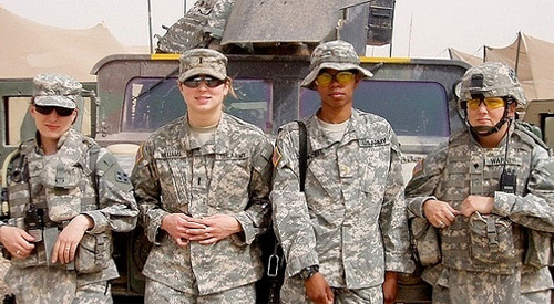 Female Veterans in Iraq