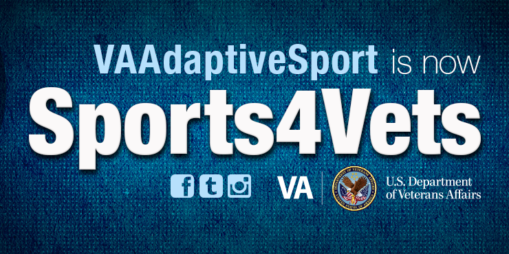 Change to VA adaptive sports program social media handles