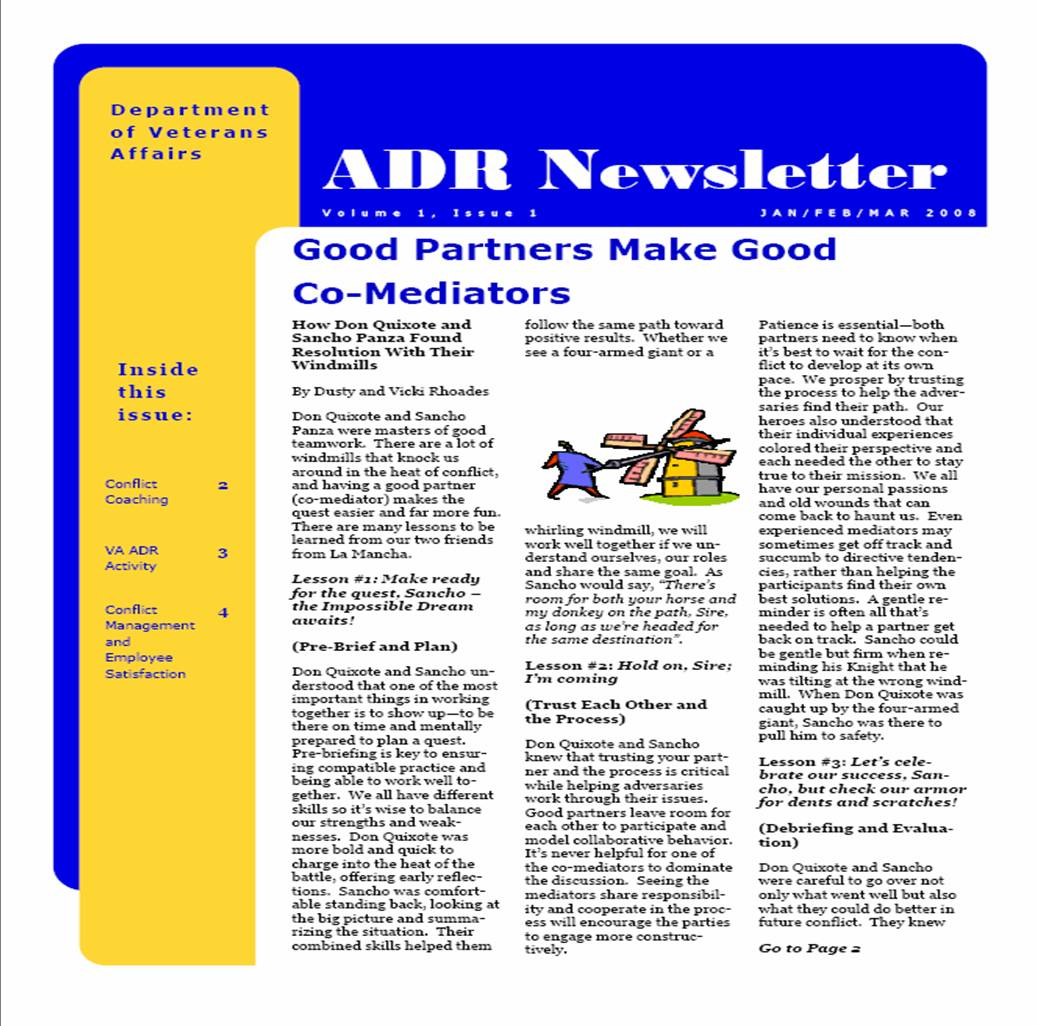 ADR Newsletters