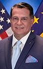 Portrait of Carlos R. Escobar, BED-Arch, MSHP, FACHE