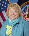Portrait of Vicki Bondie, ACHE, M.B.A.