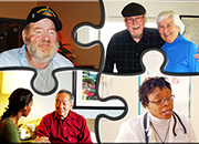 Shared Decision Making involves the Veteran, caregiver, social worker, and health care team.