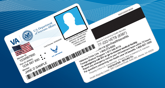Veteran health identification card health benefits new veteran health id card reheart Gallery
