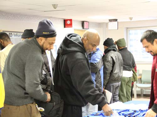 picture of VBA staff at the 2012 Winterhaven Homeless Stand Down in Washington, DC