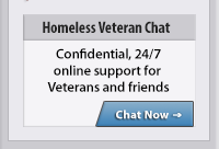 Homeless Veteran Chat | Confidential, 24/7online support for  Veterans and friends