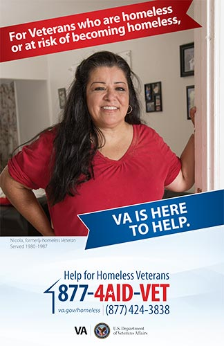 VA is Here to Help Poster