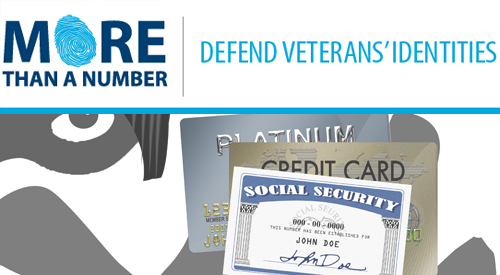 More than a number | Protect Veterans' Identities