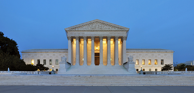 Picture of the U.S. Supreme Court building