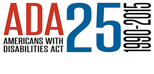 ADA Americans with Disabilities Act 25 years 1990-2015
