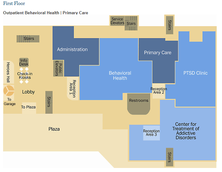 Consolidation Building Floor Plans Va Pittsburgh Health Care Veterans Affairs