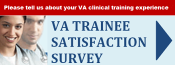 Take the VA Trainee Satisfaction Survey Graphic